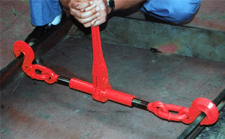 HR拉紧器使用案例2:龙海起重工具